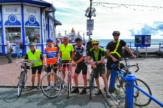 Summer ride to Eastbourne Pier